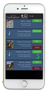 GeoExplore app