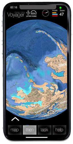 Voyager app sample screen