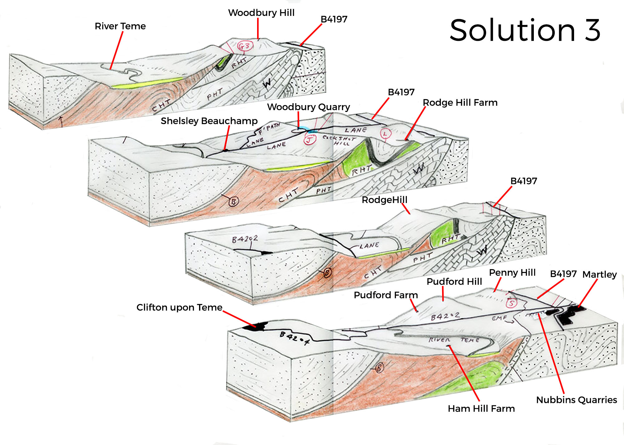 Martley geological section - solution 3